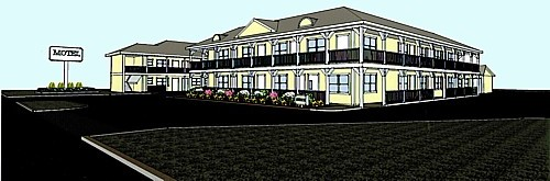 Ocean View Inn - Artisits Rendering